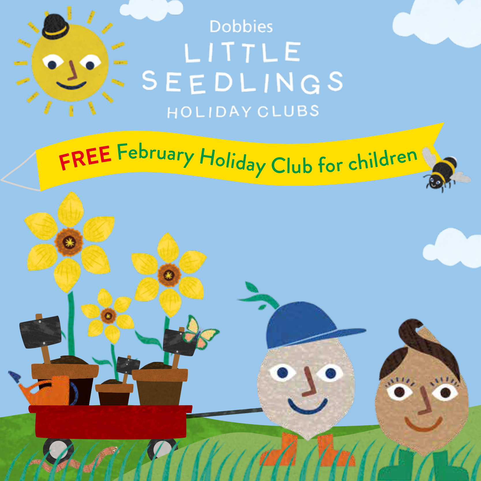 LSC 10826 Little Seedlings February Holiday Club Facebook Post Image 400X400px